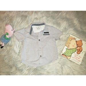 3/$12 Calvin Klein Toddler Boy Short Sleeve Shirt
